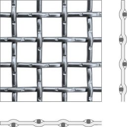CRIMPED WIRE MESH FORM D / D